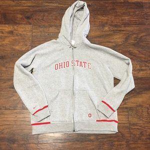 XL Ohio State Zip Up Hoodie